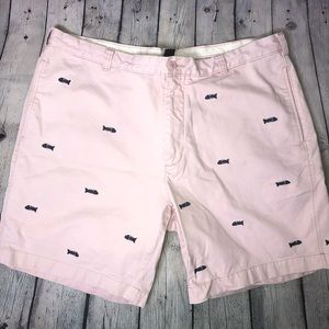 J. Crew Fish Bone Shorts